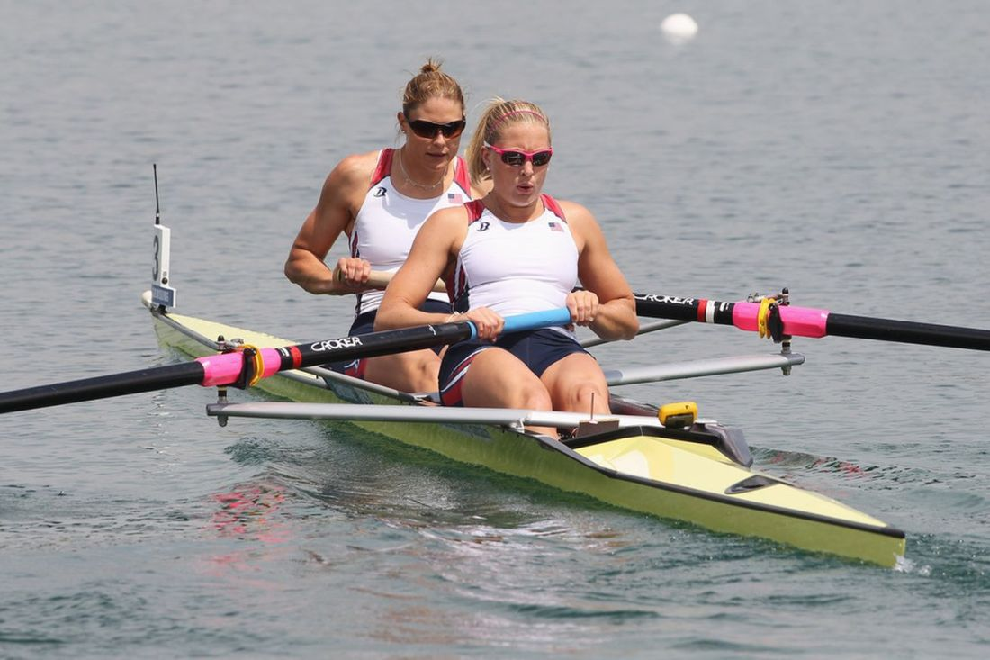 womens rowing pair
